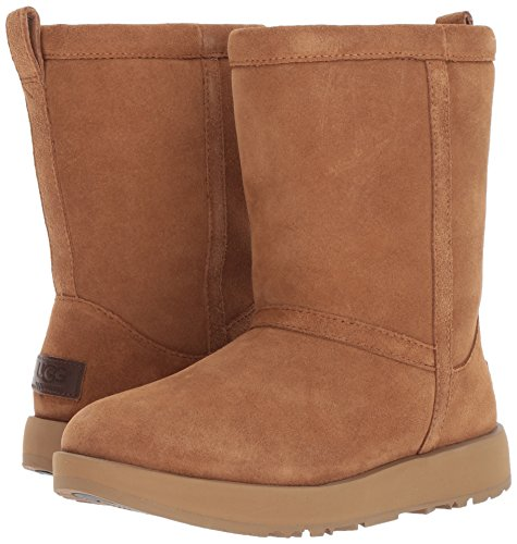 UGG Women's Classic Short Waterproof Snow Boot, Chestnut, 9 M US by UGG (Image #6)
