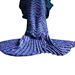 Fu-Store-Mermaid-Tail-Blanket-Crochet-Mermaid-Blanket-for-Adult-Kids-Super-Soft-All-Seasons-Sofa-Sleeping-Blanket-Cool-Birthday-Wedding-Christmas