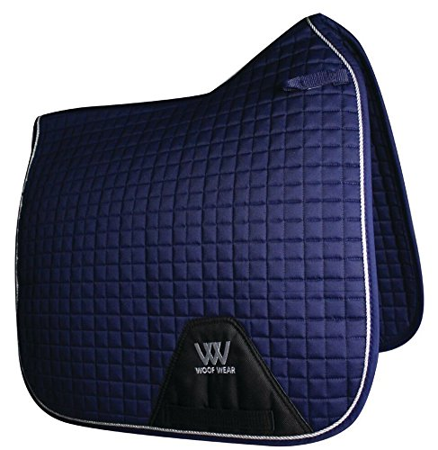 Contour Dressage Pad - WOOF WEAR Color Fushion Dressage Saddle Pad Navy