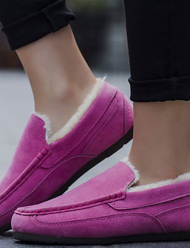Bailarina Sintético us8 Zq Uk6 Pink Eu39 Trabajo Plano Tela Rosa Botas 5 Uk3 Casual Pink 5 Tacón Zapatos Mujer Nieve Tul Cn40 Planos Y De negro us5 Uk6 5 Cn35 Eu36 5 Oficina 4rwxHXr