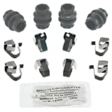 ACDelco 18K1740X Professional Front Disc Brake Caliper Hardware Kit with Clips, Seals, and Lubricant