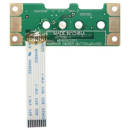 POWER BUTTON BOARD & CABLE FOR HP COMPAQ PRESARIO G50 G60 CQ50 CQ60 48.4H503.011