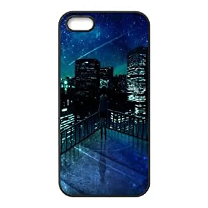 For Ipod Touch 4 Phone Case Cover Girl Looking At Falling Star Hard Shell Back Black For Ipod Touch 4 Phone Case Cover 324443