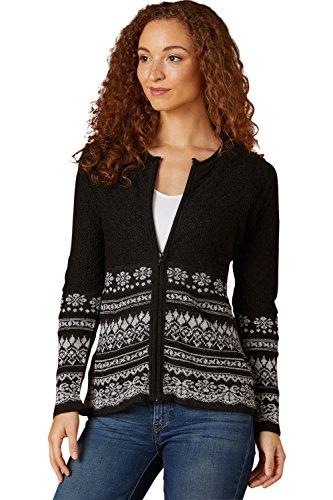 Aspen Sweater (Tey-Art Aspen Fair Trade Alpaca Zip Cardigan (XL))
