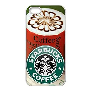 Personality customization TPU Case with Starbucks Starbucks iPhone 4 4s Cell Phone Case White