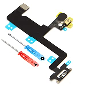 MMOBIEL Power Flex for iPhone 6 On / Off Switch Button Flex Cable incl. pre installed adhesive underside and 2 x screwdriver for easy installation