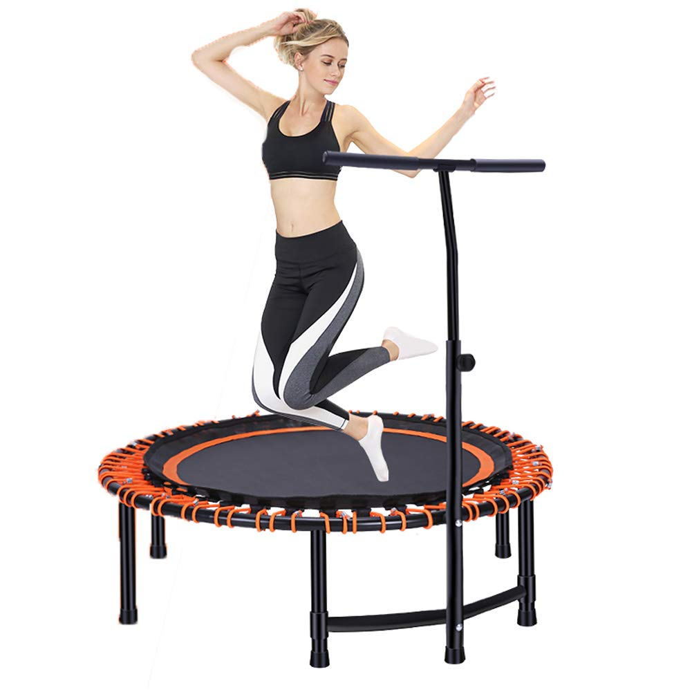 Homesave Trampolin Mit T-Handle Abnehmbare, Verstellbare Höhe 45 Zoll