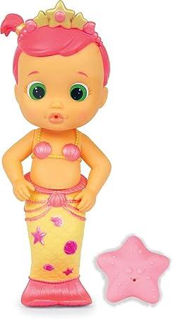Esta es Luna en su versión sirena. Igual de adorables que las Bloopies Divers, estas muñecas de baño