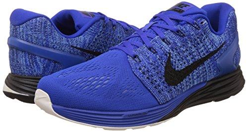sl Nero 7 dp Uomo Lunarglide Ginnastica Da Blue Bl racer Scarpe Ryl Nike black Blu UwP1xq0