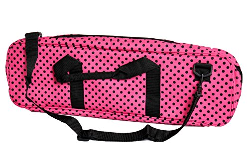 Deluxe Chess Bag - PINK / BLACK - by US Chess ()