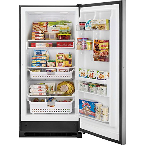Kenmore Elite 27003 20.5 cu. ft. Upright Freezer - Stainless Steel by Kenmore Elite (Image #3)