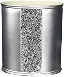 Popular Bath ''Sinatra Silver'' Waste Basket
