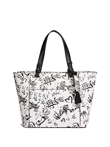 GUESS Factory Women's Laken Printed Logo Tote