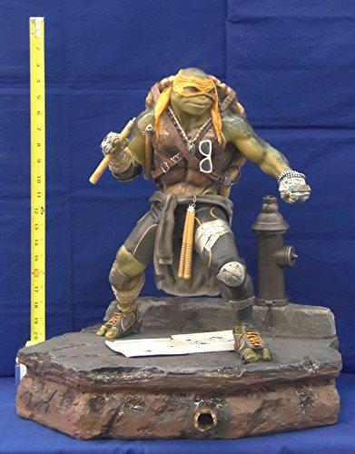Museum Masutarain Michelangelo PolyStone Statue Teenage Ninja Mutant Turtles -