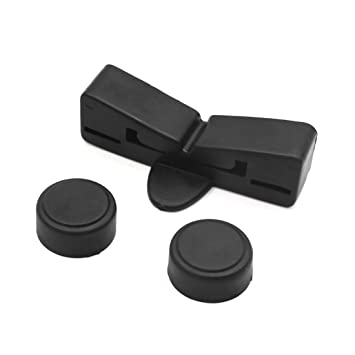 uxcell Black Rubber Motorcycle Scooter Gas Oil Fuel Tank Cushion ...
