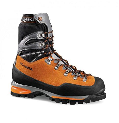 Alpine Scarpa Bergschuhe Herren orange schwarz OFw6Aaq