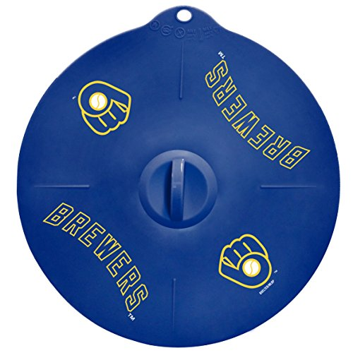 Boelter Brands MLB Milwaukee Brewers Silicone Lid