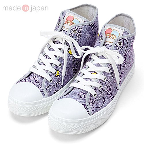 Sanrio Little Twin Stars high-cut sneakers 24cm From Japan New (Official Monster High Costumes)