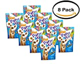 PACK OF 8 - Purina Friskies Party Mix Crunch Beachside Cat Treats 10 oz. Pouch