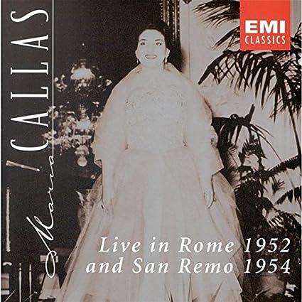 Live: Rome 1952 & San Remo '54