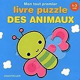 Mon tout premier livre puzzle des animaux 1-3 ans