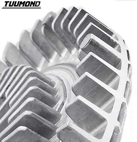 TUUMOND Premium Engine Cooling Fan Clutch Fit for Jeep Grand Cherokee Dodge Ram 3.7L 4.0L 4.7L 5.9L 2736