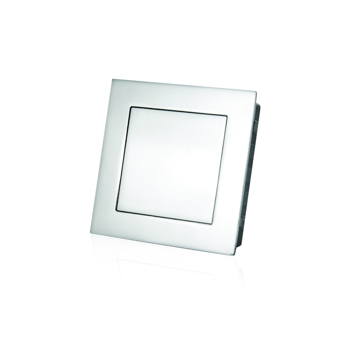 Jako WFH112X75 Square Flush Pull - Stainless Steel, Size: 2 61/64''