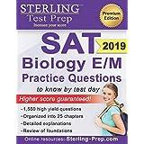 Sterling Test Prep SAT Biology E/M Practice Questions: High Yield SAT Biology E/M Questions