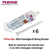 Plexus MA310 All Purpose High Strength MMA Adhesive 50ml/1.7oz cartridge 6-Pack (#31500)