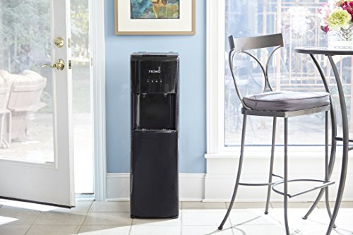 Primo Black 2 Spout Bottom Load Hot and Cold Water Cooler...