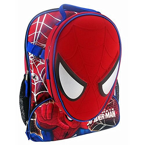 [Spider-Man backpack set from Marvel includes a detachable lunch bag that looks like Spider-Man's face.WITH SCHOOL SUPPLIES] (Ninja Turtle Face Paint)
