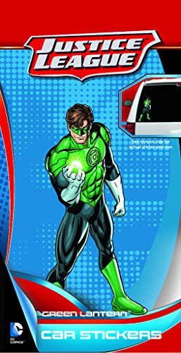 DC+Comics Products : Enjoy It DC Comics Green Lantern Car Sticker, Outdoor Rated Vinyl Sticker Decal