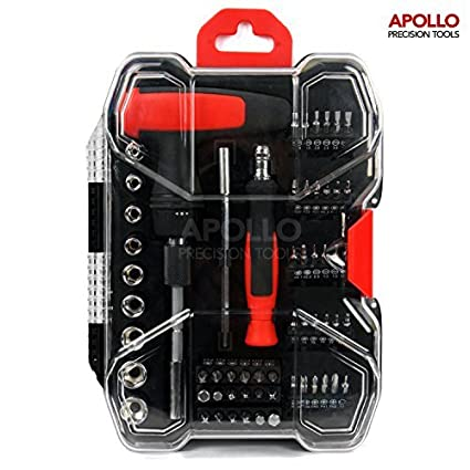Apollo Kit de herramientas de precisión, 59 piezas, con ...