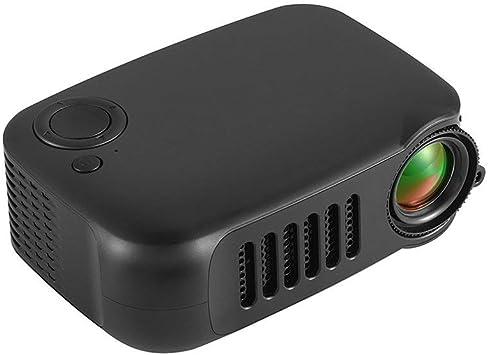 CAIZHAO Mini proyector de 1080p, el Altavoz de Alta Potencia ...