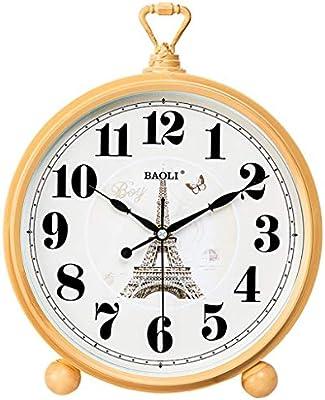 Reloj de Escritorio clásico Americano silencioso Mesa de Cuarzo ...