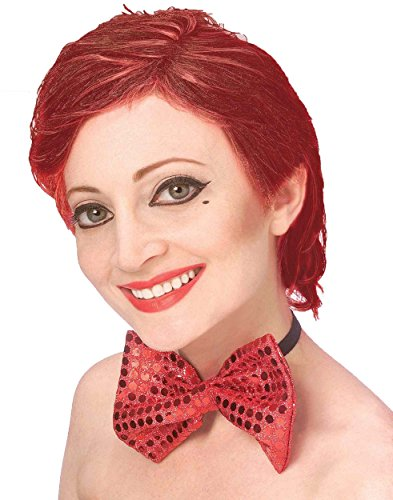 Historical Wig Costumes (Forum The Rocky Horror Picture Show Columbia Wig, Red, One)