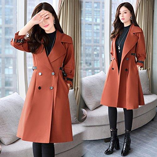 Mrs Green Of Wind Load Female Army amp; Coats Sense Jackets SCOATWWH Coats Jacket Women'S In Caramel Long qv4gwzWn