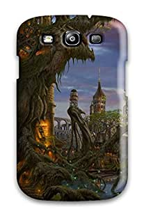 Hxy Scratch-free Phone Case For Galaxy S3- Retail Packaging - Building Fantasy