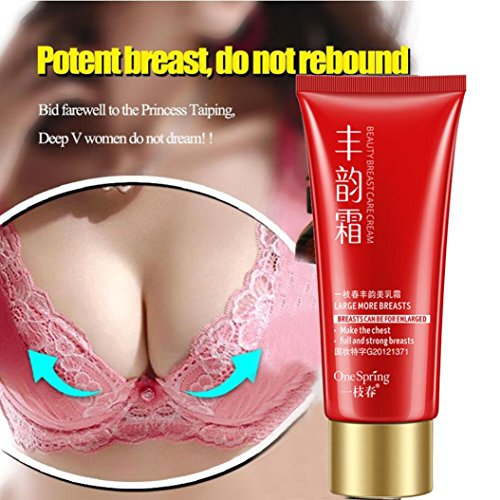 Breast Enhancement & Enlargement Massage Cream - for Bigger, Fuller Breasts Lifts your Boobs