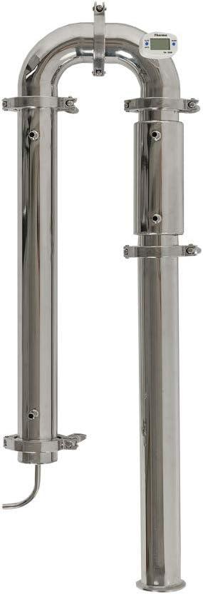 SPEAKEASY Moonshine Still - Column Reflux Distiller for Whiskey Bourbon Vodka Gin | 2 inch tri-clamp