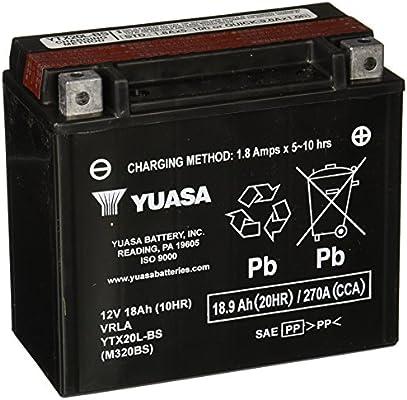 Yuasa YUAM320BS YTX20L-BS Battery