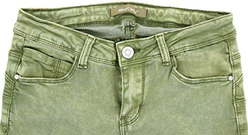 Denim Boyfriend Skinny Pantaloni Straight 42 Bootcut A Skinny Kaki Jeans Slim Donna Slim Da 34 Yn484q