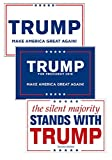 Donald Trump For President Republican Make America Great Again! Signs & Posters Set of 3