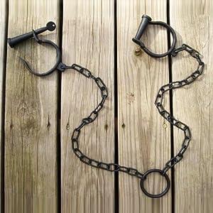 Amazon.com: Leg Irons Shackles Medieval Pirate Jailhouse