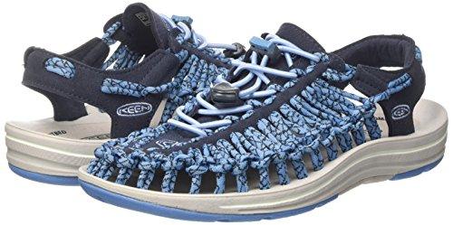 Navy Cendre Sandals Uneek Femmes W Keen Midnight Blue 7UgwXxU4q