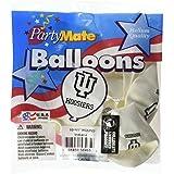 "Pioneer Balloon Company 10 Count University of Indiana Latex Balloon, 11"", Multicolor"