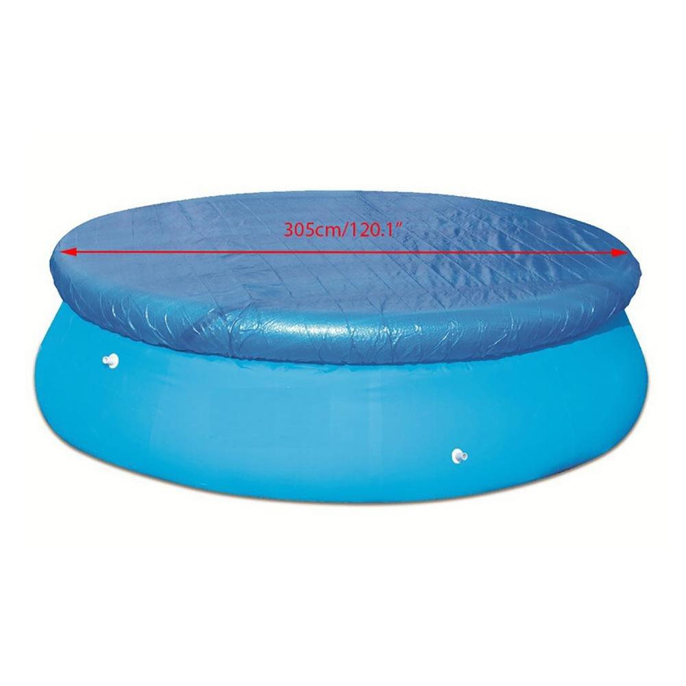 AOLVO Cubierta Hinchable para Piscina, diámetro Superior a la ...