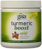 Cheap Gaia Herbs Turmeric Boost Uplift Supplement, 5.29 Ounce – Health Inflammatory Response, Prebiotic Blend, Mood Support, No Added Sugar