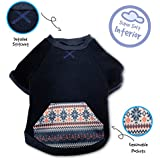 Pet Craft Supply 8968 Pullover Sweater, Large, Navy
