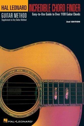 Incredible Chord Finder (Hal Leonard Guitar Method) by Hal Leonard Publishing Corporation (1996) Paperback (Hal Leonard Publishing)